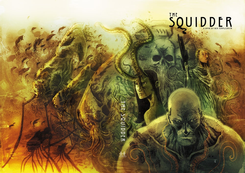 Image of THE SQUIDDER KRAKEN SLIPCASE EDITION