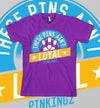 These Pin Ain't Loyal : Purple / Blue / Yellow