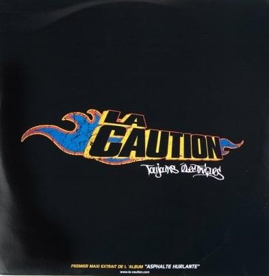 Image of La Caution : Toujours Electriques (maxi vinyl) 2 Derniers Exemplaires