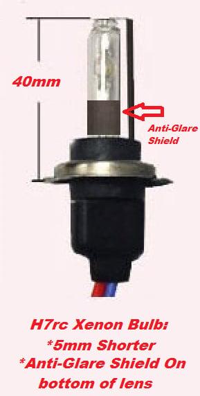 Image of Slim Digital H7 HID Kit [Full Set] Including Adapters and Resistors Fits: MK6 GTI