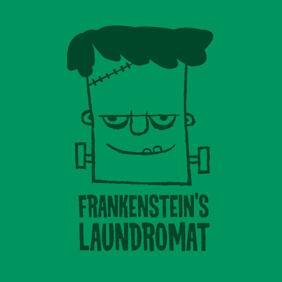 Image of Frankenstein's Laundromat Shirt