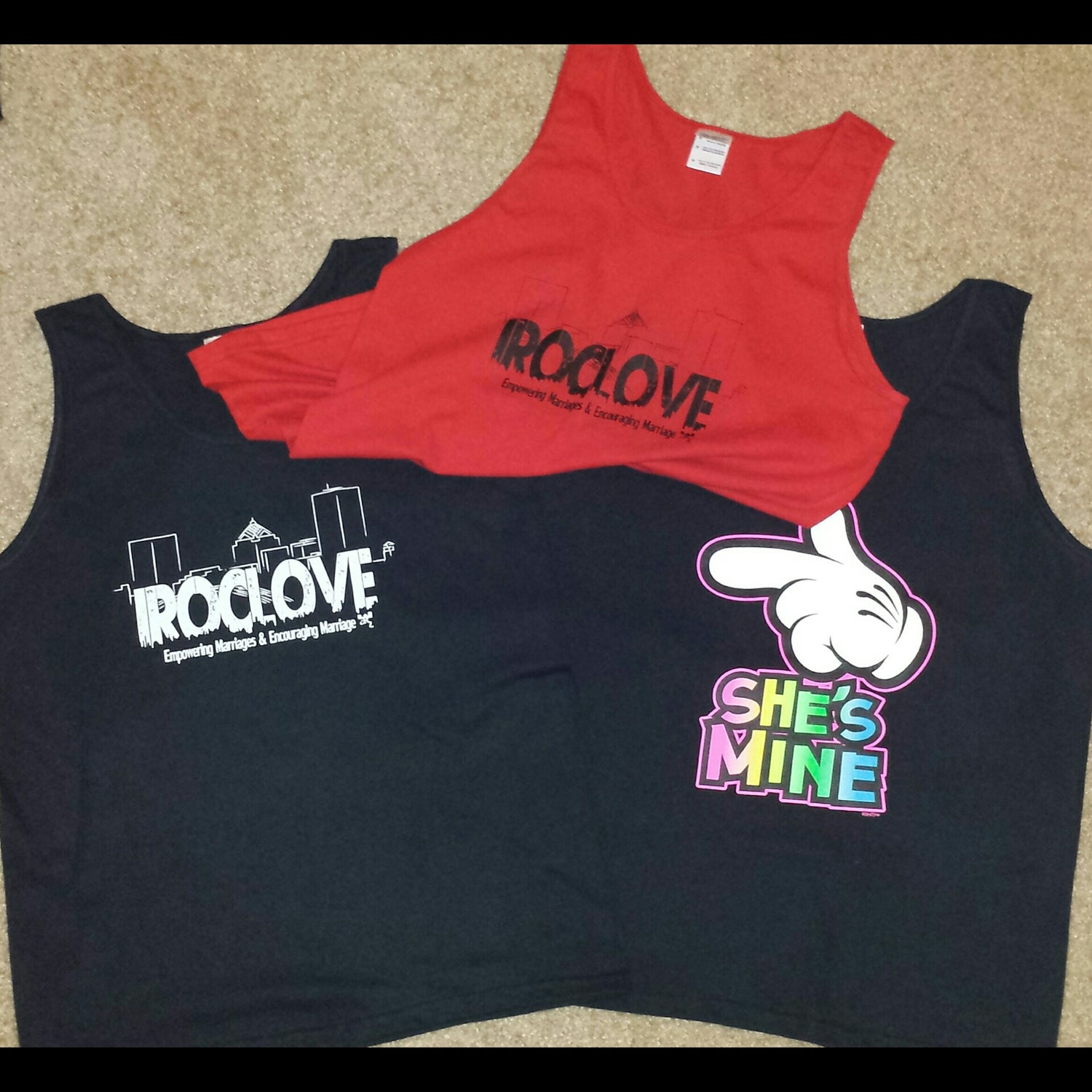 Image of #iRocLove Variety Tank Tops for Men and Women