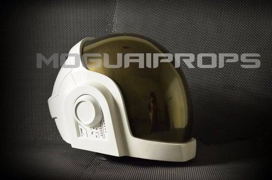 Image of Daft punk replica helmet Grammy edition.