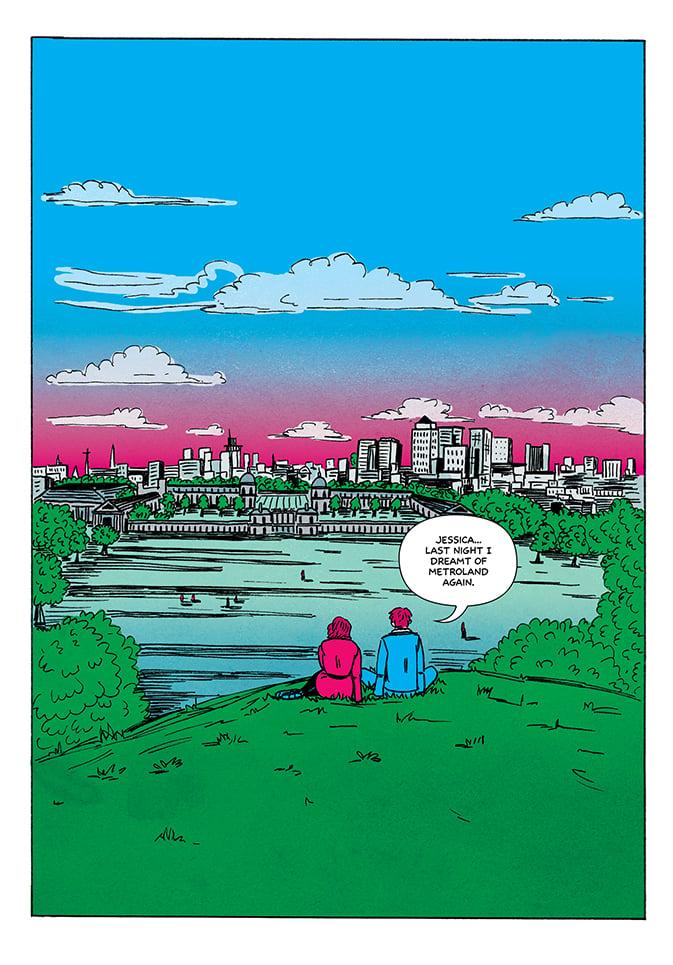 Metroland #1 by Ricky Miller & Jules Scheele