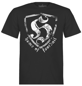 Image of T-Shirt home of football black