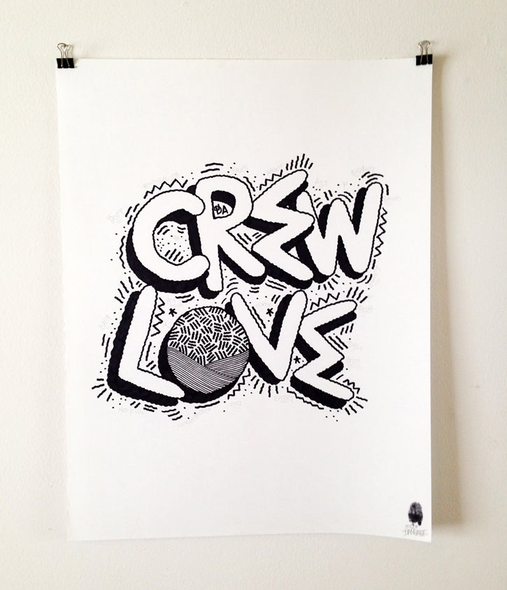 """Image of """"Crew Love"""""""