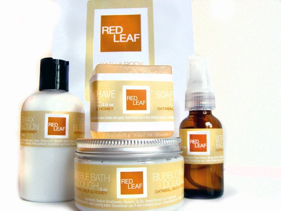 Image of Vegan Spa Gift Set With Four Best Selling Products