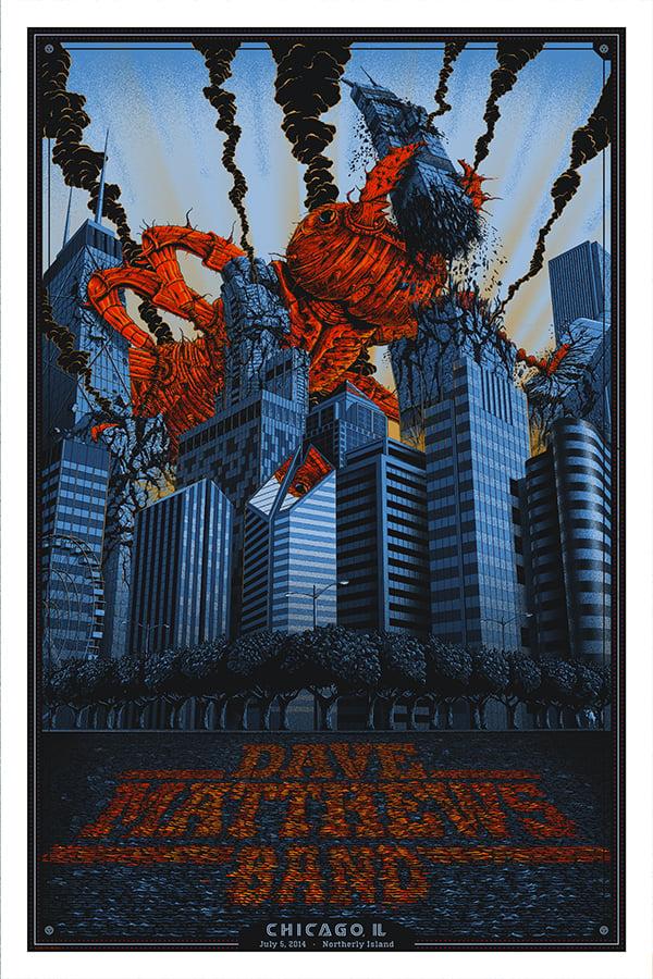 Image of Dave Matthews Band Chicago 2014