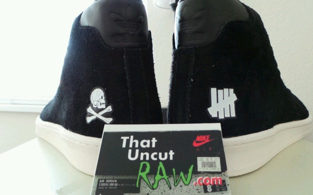 Image of neighborhood X undefeated X adidas official mid 80's, brand new (ds)