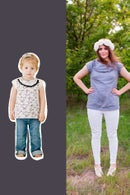 Image 1 of ADELAIDE + HARPER mommy&me bundle