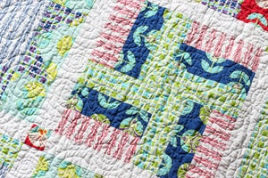 Image of Simply Sampled Quilt PAPER Pattern