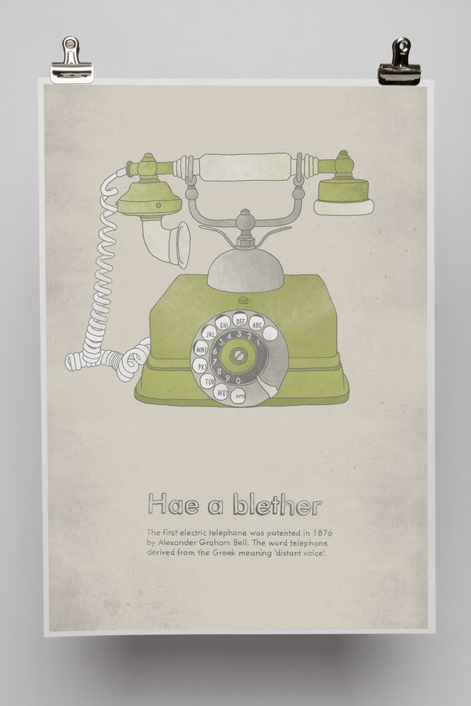 Image of The telephone
