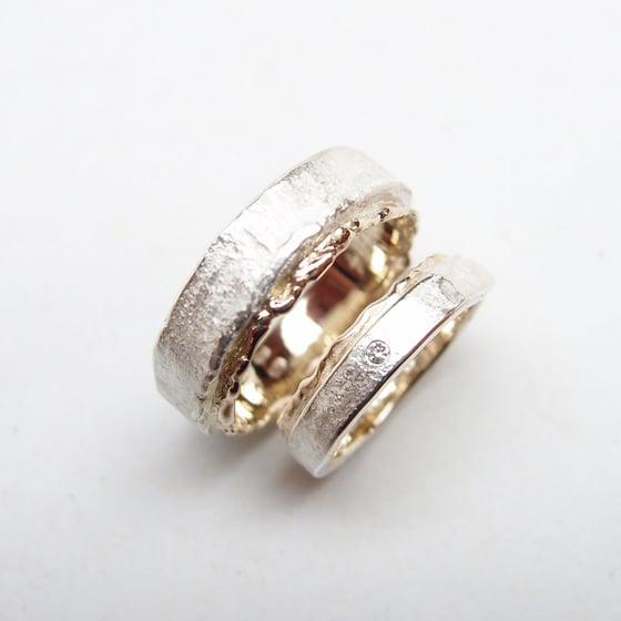 Beeld van Wedding rings silver/gold