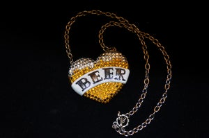 Image of I Love Beer Necklace