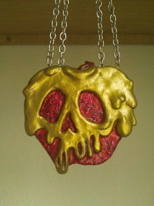 Image of Poison Apple Necklace