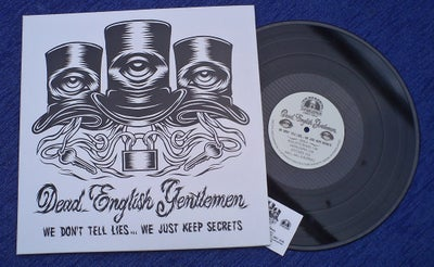 "Image of DEAD ENGLISH GENTLEMEN 12"" Heavy Vinyl."
