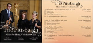 Image of Trio Pittsburgh: Music for Harp, Violin and Cello