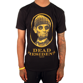 Image of Dead Presidents Tee (Blk/Gld)