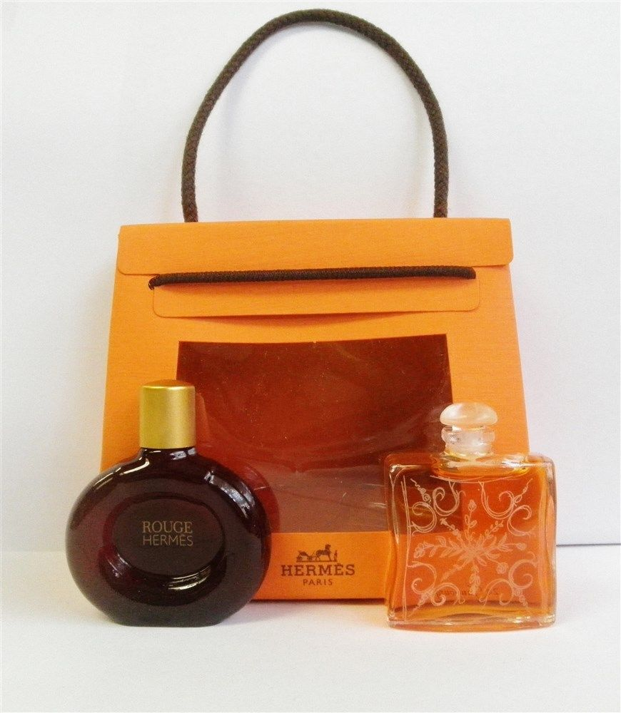Hermes 2 Pc Womens Miniature Set 24 Faubourg Edt 25 Oz Rouge Woman Edp 100 Ml Image Of This Perfume