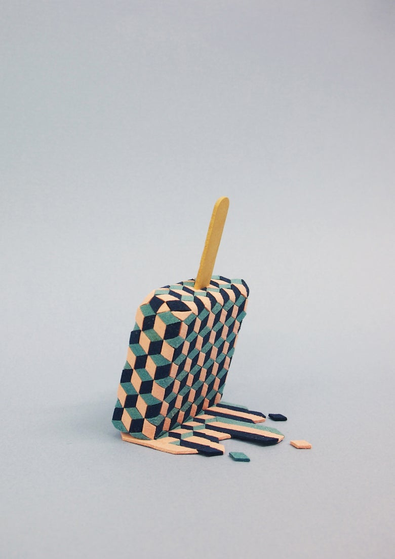 Image of Ice lolly - Print