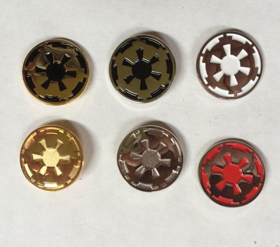 Image of Imperial COG Lapel Pins 18MM