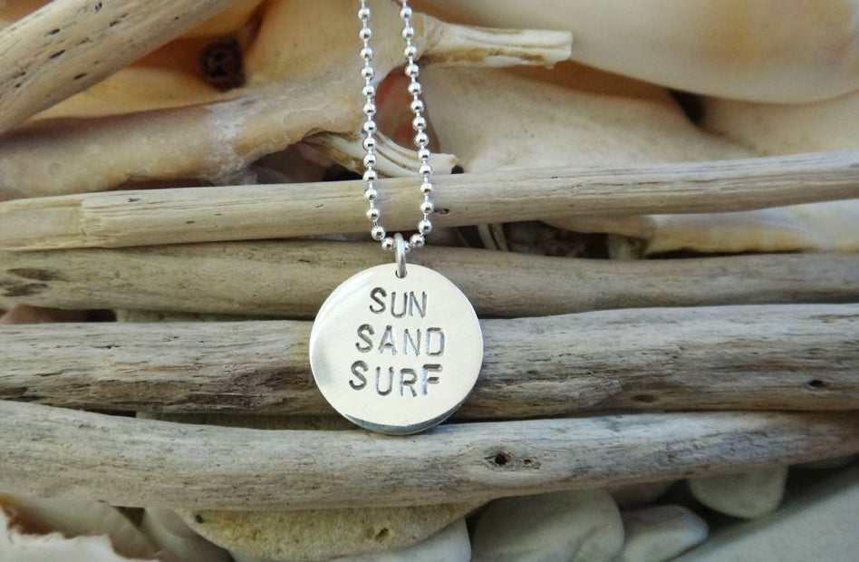 Image of Sun Sand Surf Necklace