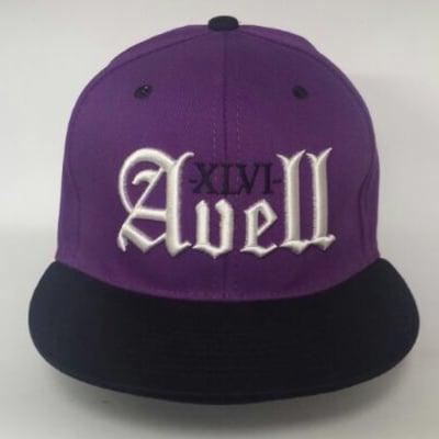 Image of XLVI Avell Purple/Black Snapback