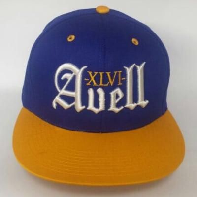 Image of XLVI Avell Blue/Yellow Snapback
