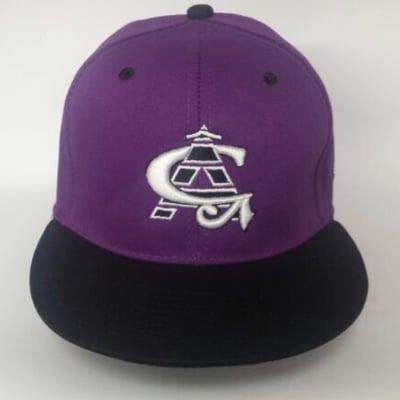 Image of CA Purple/Black Snapback