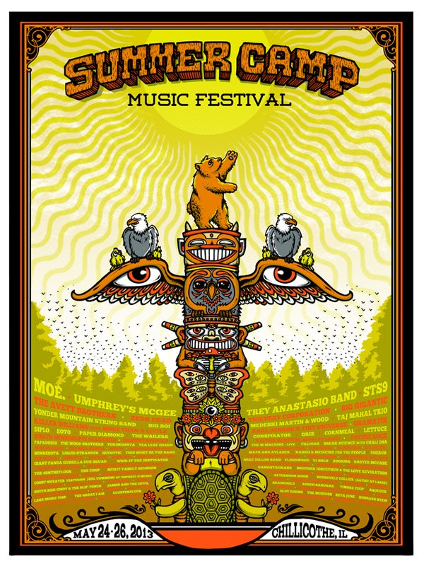 Image of SUMMER CAMP MUSIC Festival 2013 & Variant