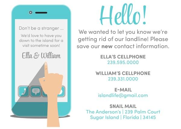 Image of Goodbye landline - hello new technology