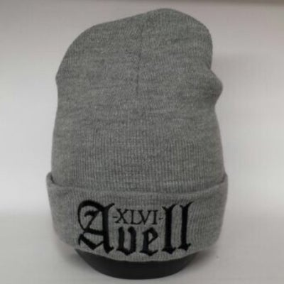 Image of XLVI Avell Grey/Black Beanie