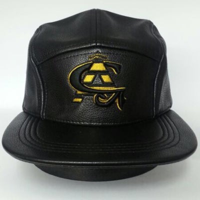 Image of *LIMITED EDITION* CA Black/Gold 5 Panel Snapback