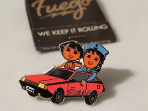 Image of Fuego pin