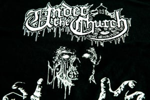 "Image of UNDER THE CHURCH ""The Zombie"" T-Shirt"