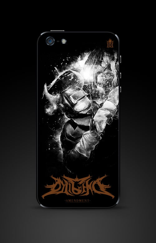 Image of Devil Welder iPhone 5 back cover