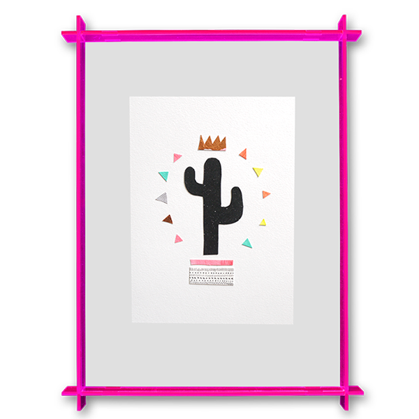 Image of Cactus King - Original Artwork