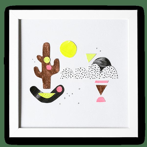 Image of Cactus Moon - Original Artwork