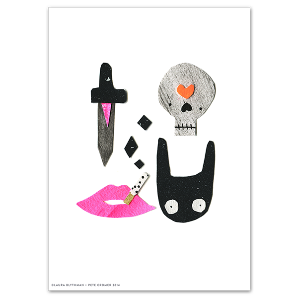 Image of Deathly - Limited Edition Print