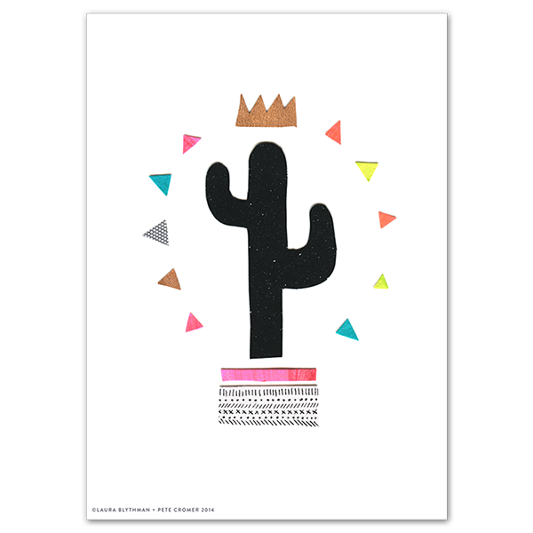 Image of Cactus King - Limited Edition Print