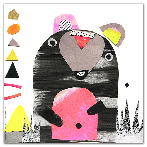 Image of Mouse Bear - Limited Edition Print