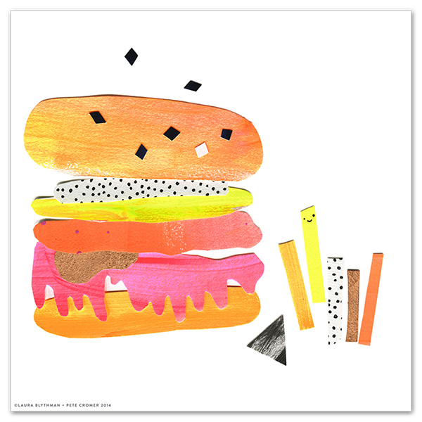 Image of Cheeeseburger - Limited Edition Print