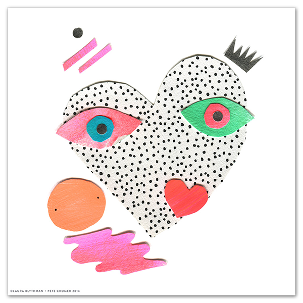 Image of Lover Heart - Limited Edition Print