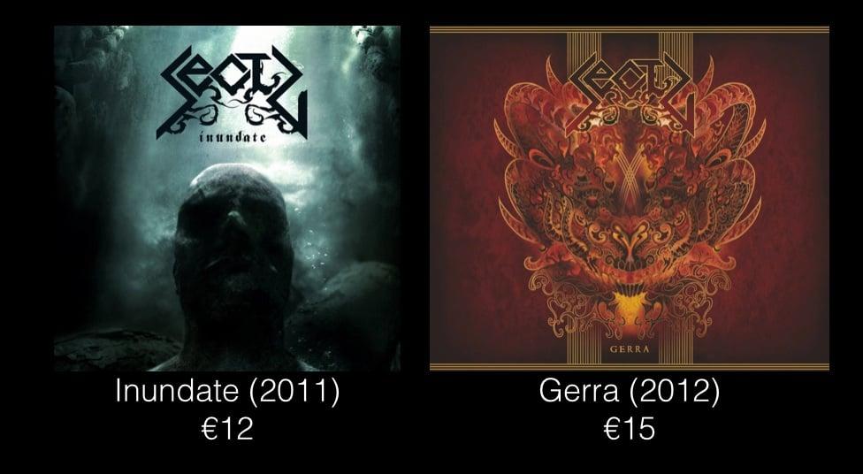 Image of Sectu - Inundate (2011) or Gerra (2012)