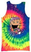 Image of SOS Neon Tie Dye Tank Top