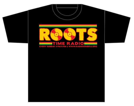 Image of ROOTS TIME RADIO LOGO SHIRT