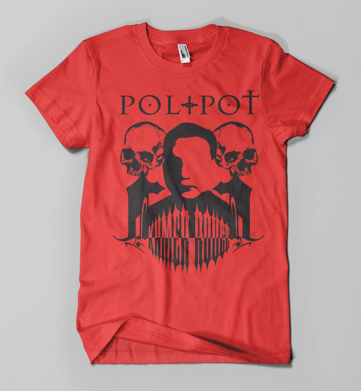 Image of pol pot shirt (red)