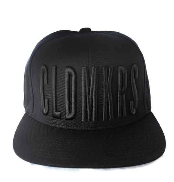 Image of CLDMKRS - BLACK - SNAPBACK