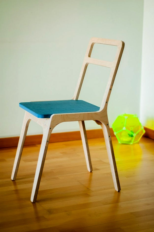 Image of slim chair