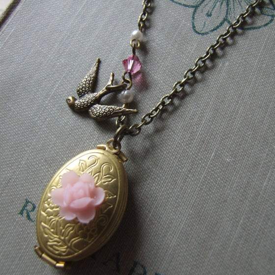 "Image of ""FAMILY ALBUM"" Folding Concertina Locket Necklace"